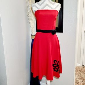 Women's Rampage Strapless Dres Size 7